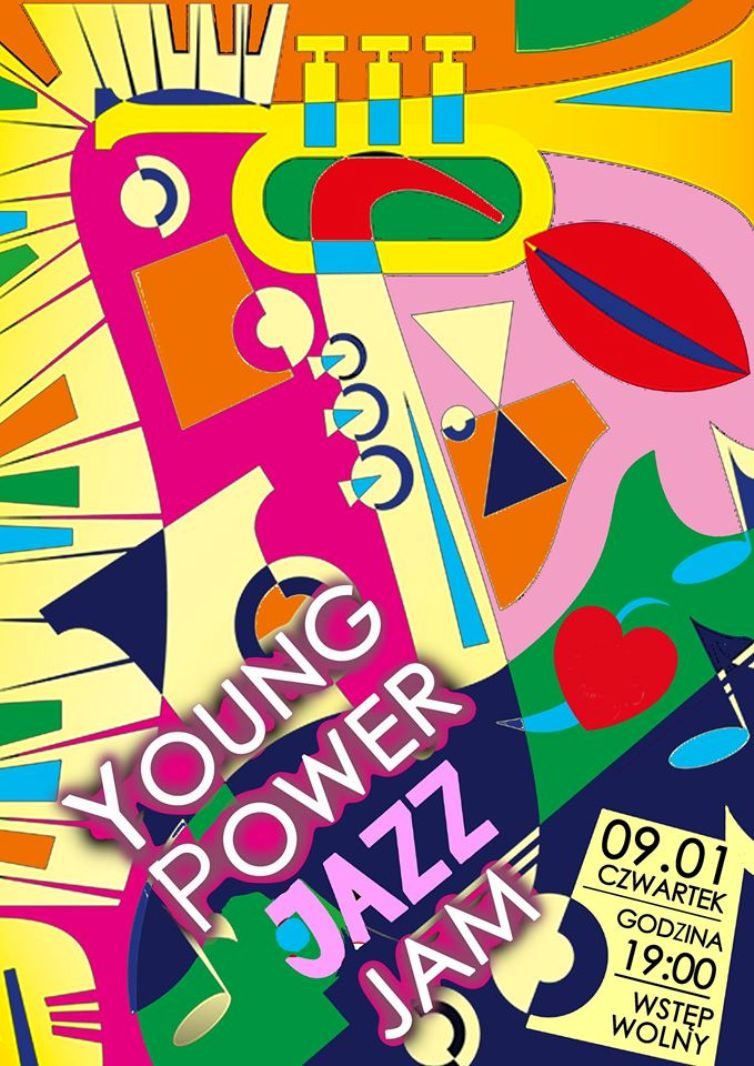 Young power jazz jam